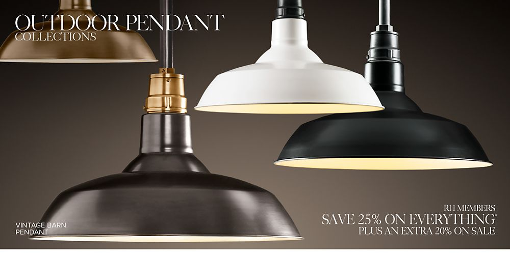 Outdoor Pendant Collections