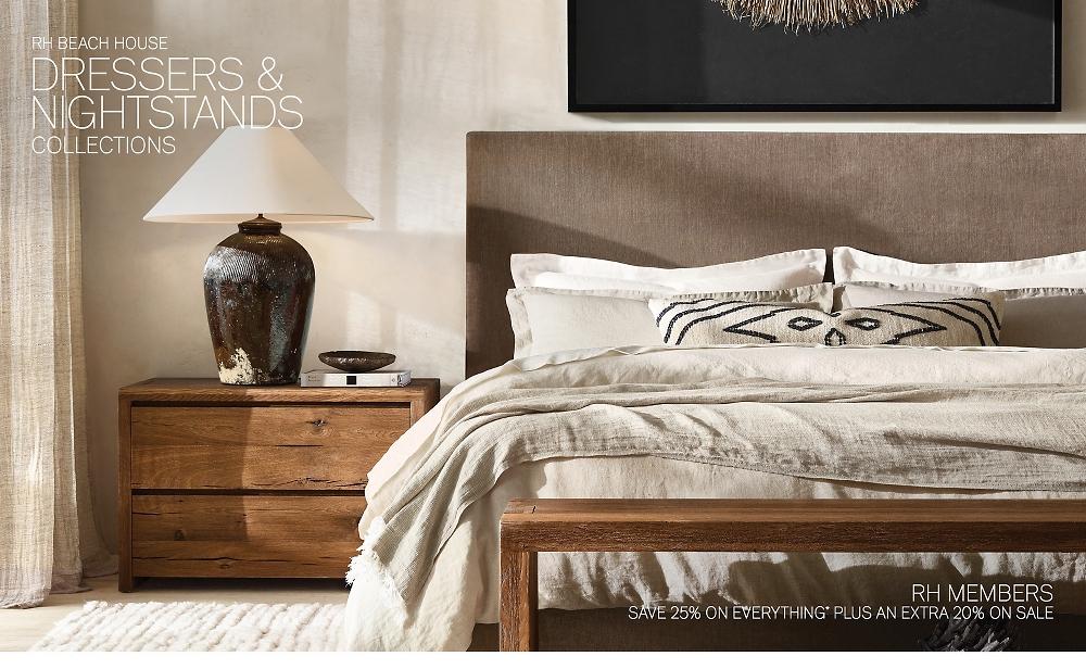 Shop RH Beach House Nightstands & Dressers