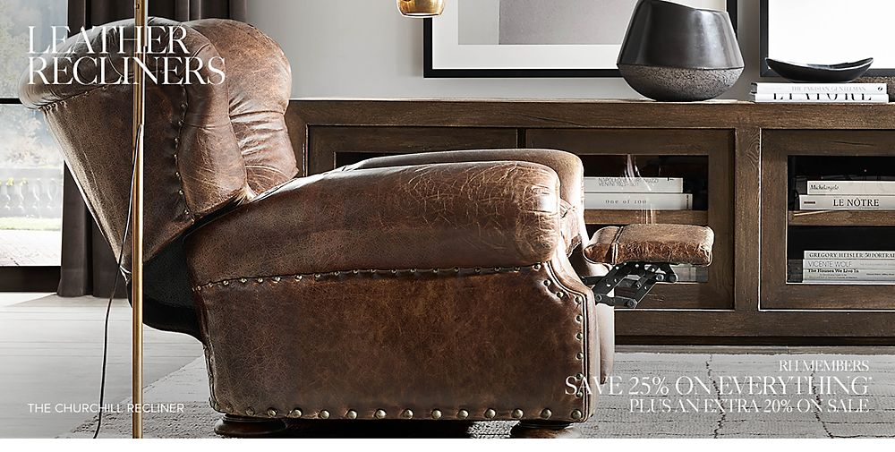 Shop Leather Recliners