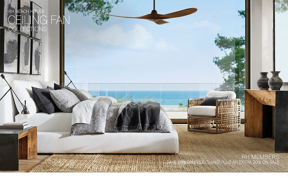 Shop RH Beach House Ceiling Fans