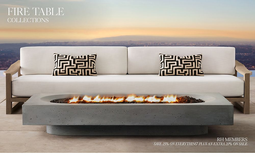 Shop Outdoor Fire Table Collections
