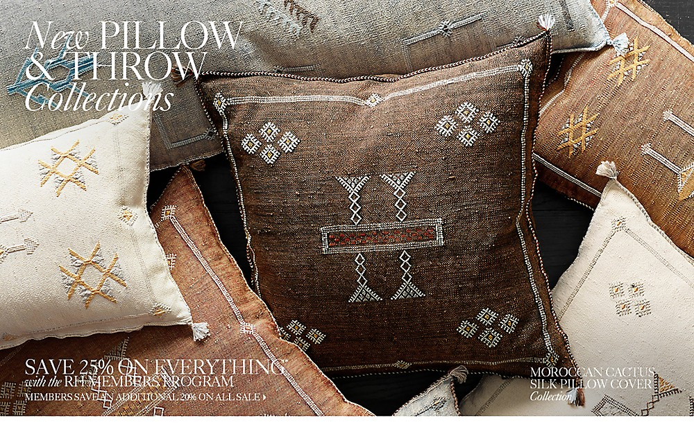 pillow and throw collections