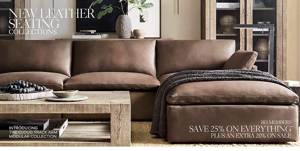 Shop Our New Leather Seating Collections
