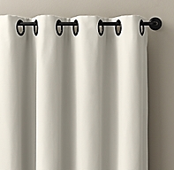 Custom Outdoor Perennials® Performance Canvas Grommet Drapery<br><b><small><em>All Colors On Sale</em></small></b>